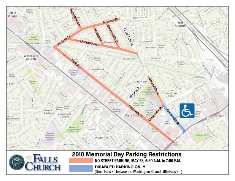 Memorial Day Parking Restrictions