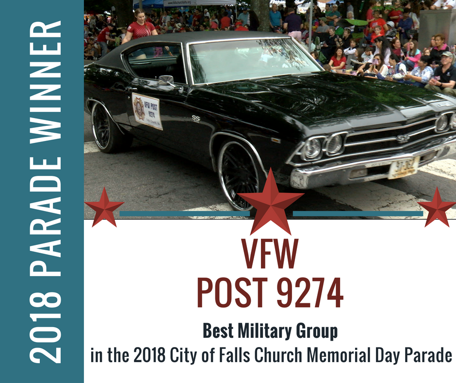 Best Military Group: VFW Post 9274