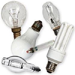 Used Light Bulbs
