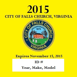 City Decal 2015