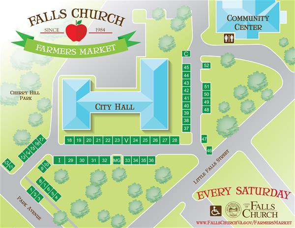 Farmers Market Map