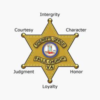 Falls Church Sheriff Badge