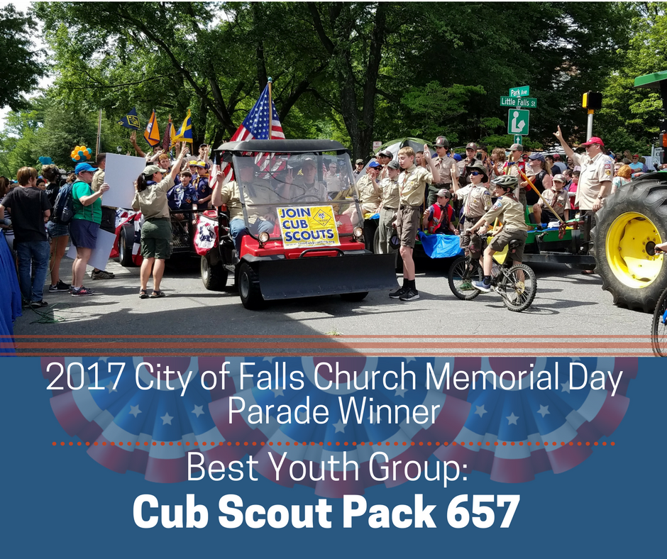 Best Youth Group: Cub Scout Pack 657