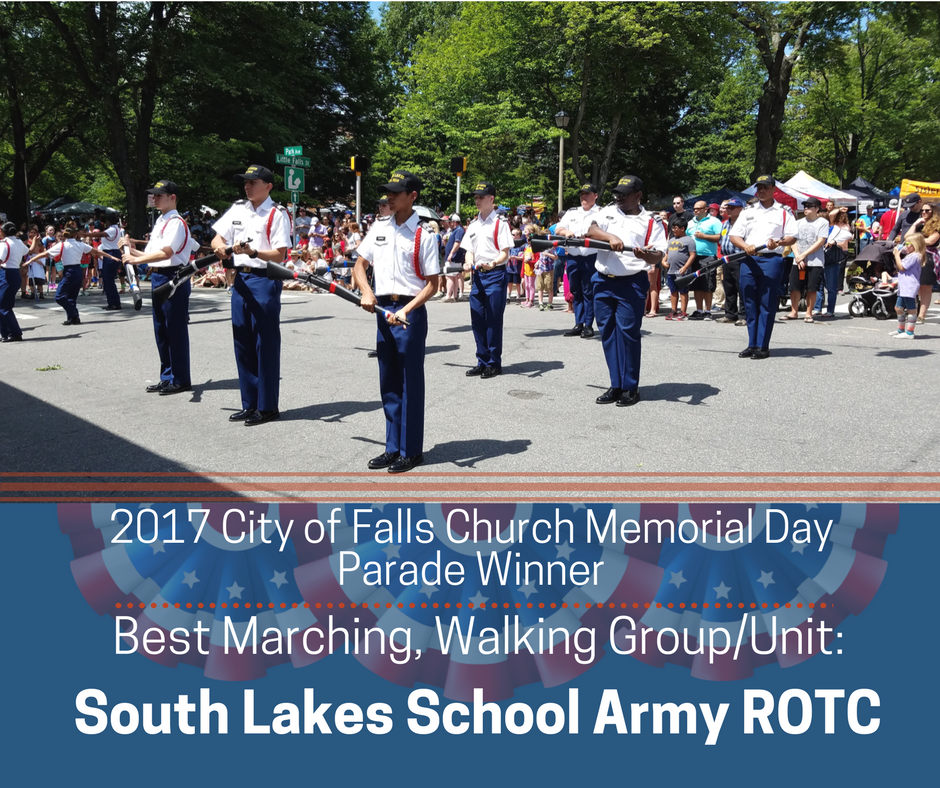 Best Marching, Walking Group/Unit: South Lakes High School Army ROTC