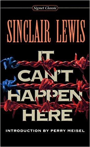 It Can't Happen Here (book cover)