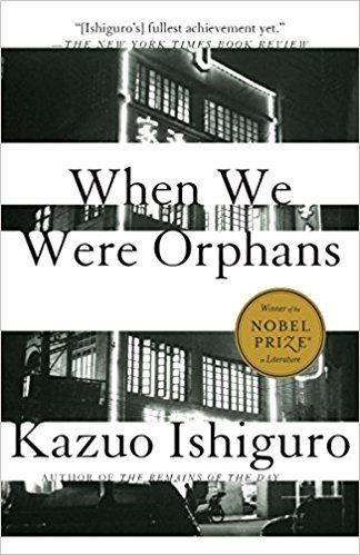 When We Were Orphans (book cover)