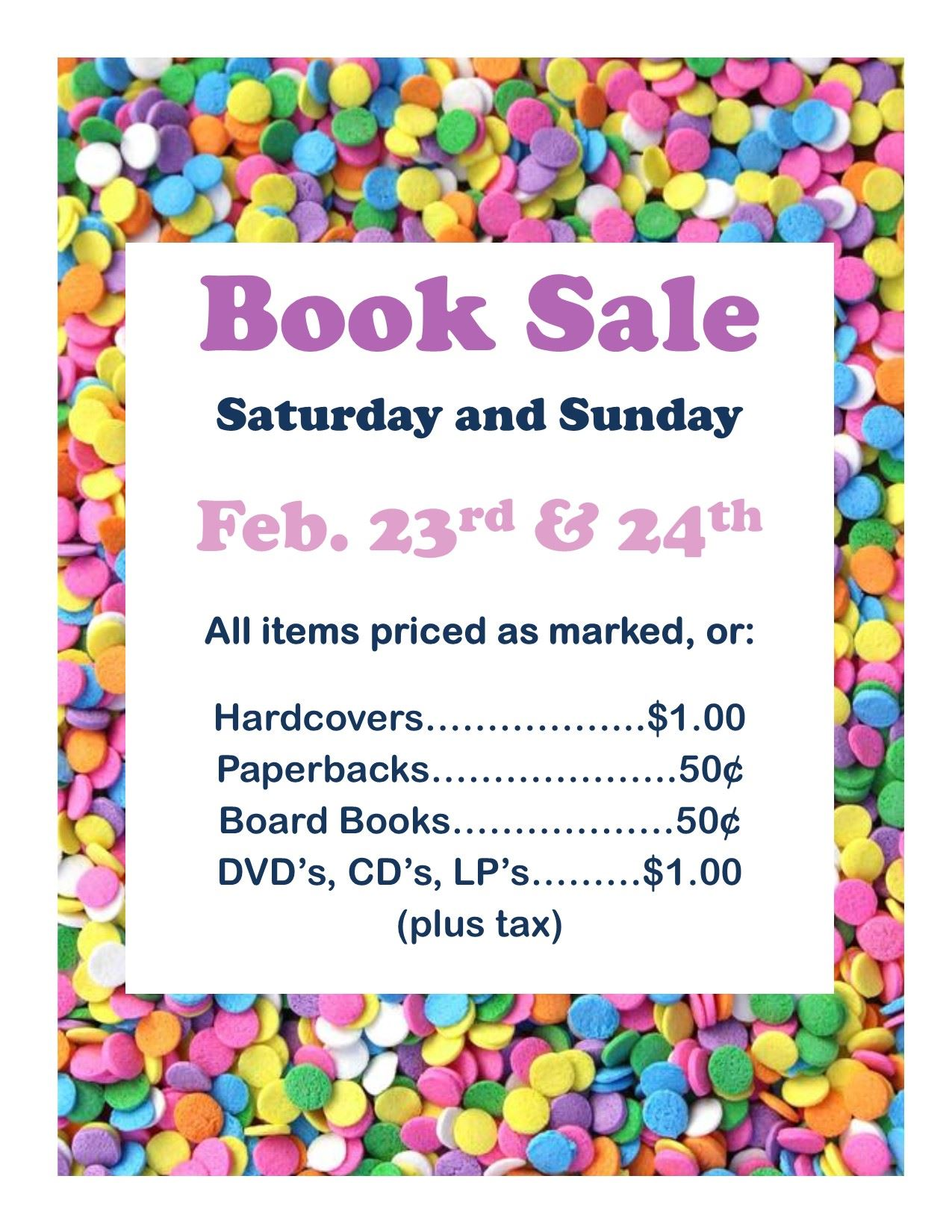 Book Sale (Feb2019)