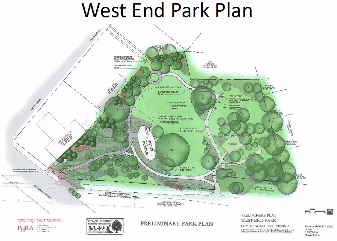 West End Park Plan